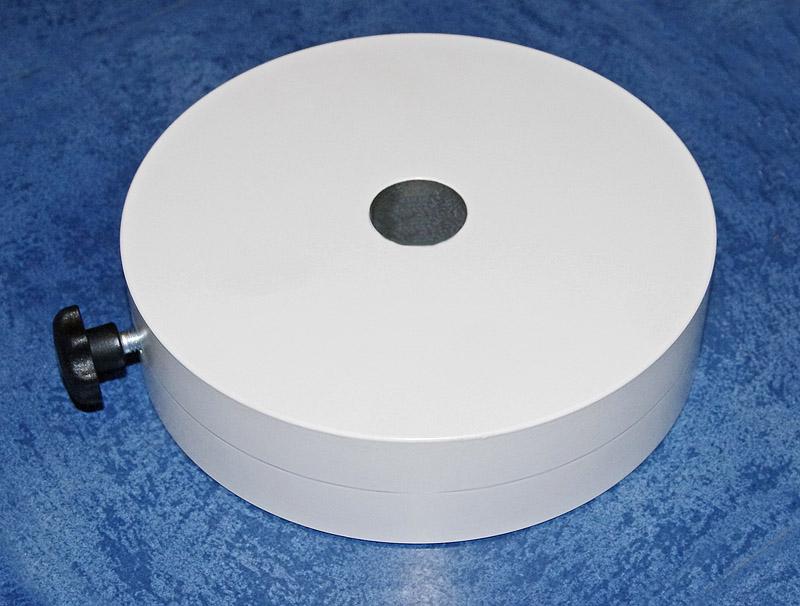 10kg Gegengewicht, weiß pulverbeschichtet